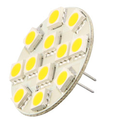 12 SMD Backpin G4 LED Lamp