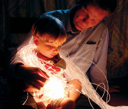 Fibre Optic LED Sensory Lighting Kit