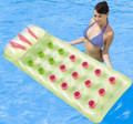 Bestway 18 Pocket Beach Bed Pool Lilo Airbed Lounger