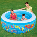 Bestway Children's Circular Inflatable Sea Life Paddling Play Pool