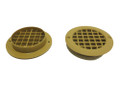 75mm Round Short Tail Mesh Floor Vent (7080000)