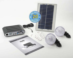 Hubi 2K Power and Lighting System Caravan Solar Hub (HUBi102A)