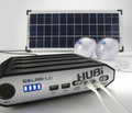 HUBi 10k Power & Lighting Expandable Solar Hub Kit System (HUBI1010A