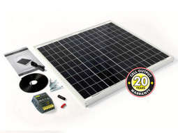 PV Logic 60w Caravan Solar Panel Kit with 4Ah Controller (STP060MA)