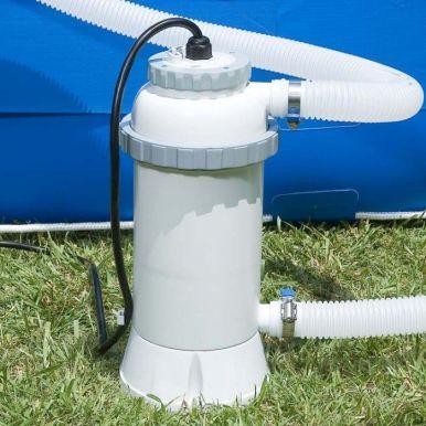 Intex above ground electric garden swimming pool - Heaters for above ground swimming pools ...