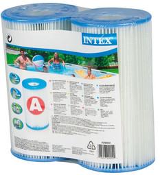 Intex Swimming Pool A-Type Filter Cartridge Twin Pack