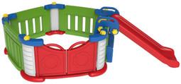 Sunshine Modular Baby Play Pen Children's Playground with Slide (TB511)