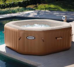 Intex Octagonal Inflatable Jacuzzi Style Spa Hot Tub