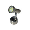 Stainless Steel LED Caravan 12v Switched Spot Lamp