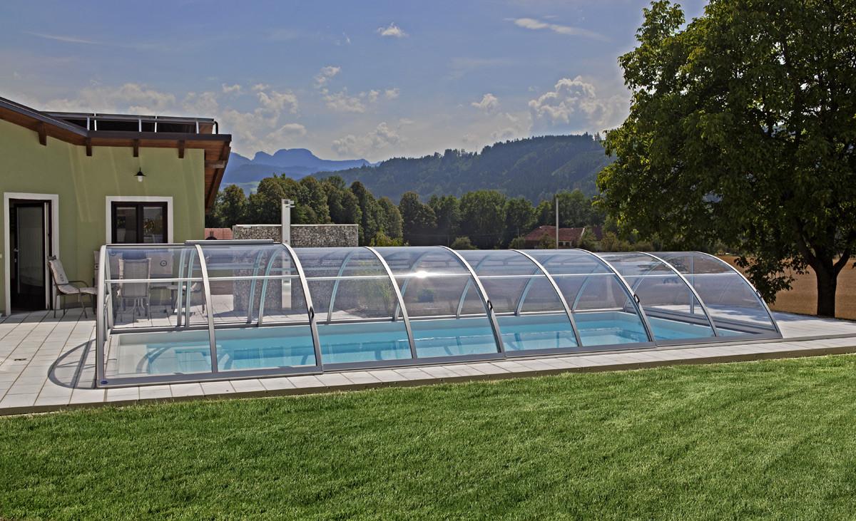 Sun Sky Cross Section Retractable Telescopic Swimming Pool