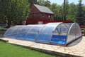 Sun Sky Cross Section Telescopic Swimming Pool Enclosure