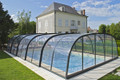 Harmonie Tall Cross-Sectioned Retractable Swimming Pool Enclosure