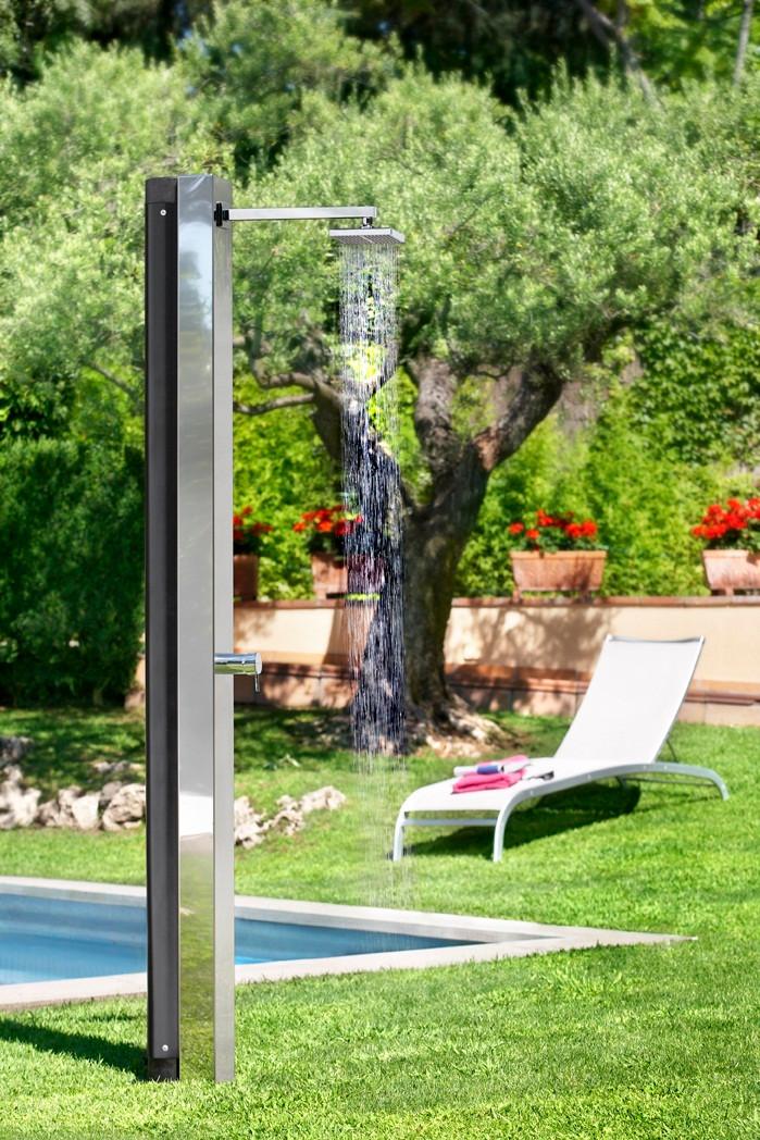 Niagara Swimming Pool Solar Shower With Mixer Valve 53873