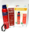 JacTone Home & Leisure Fire Safety ABC + SQ Pack