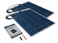 PV Logic 160 Watt Flexible Solar Panel Kit For Boats, Caravans and Motorhomes