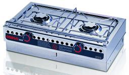 Dometic Origo 3000 2 burner free-standing spirit alcohol camping and marine stove