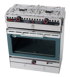 Dometic Origo 6000 free-standing meths oven and stove for marine caravan and motorhomes