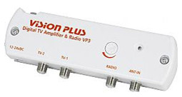Vision Plus VP3 Digital TV and Radio signal Amplifier aerial booster