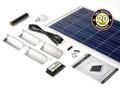PV Logic 100w Motorhome Caravan Camper Solar Panel Kit Complete