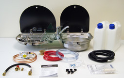 Dometic Smev 8123 Campervan Caravan Motorhome Conversion Kit with Gaz Regulator and Mixer Water Tap operation