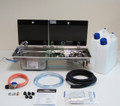 Conversion kit 1 Left hand Dometic Smev 9722, Camping Gaz regulator & cold tap                                                            9722KIT1-L-G-C