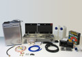 Smev 9722 Hob and Sink, CRX50 Fridge & Sargent EC160 Van Conversion Kit 2 with a Bulkhead regulator and Cold tap option