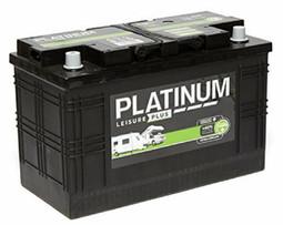 Platinum 110Ah Leisure Battery for Campervan, Motorhome and Caravan
