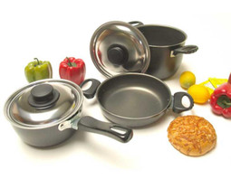 Reimo Camping and caravan pots and pans set