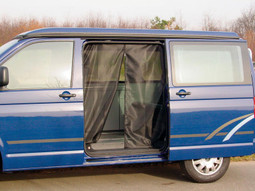 Reimo mosquito net for sliding door of VW T5 or T6