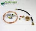 Camping Gas Campervan & Motorhome Conversion Starter Kit Bulkhead Regulator