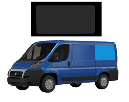 Fiat Ducato L1 Bonded Privacy Glass Fixed Window - Rear Left Hand