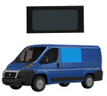 Fiat Ducato L1 Bonded Privacy Glass Fixed Window - Front Left Hand