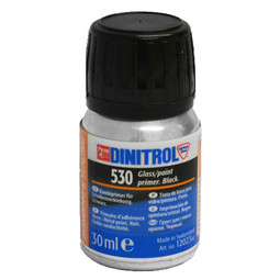 DINITROL 530 BONDED GLASS WINDOW ADHESIVE BLACK PRIMER 30ml
