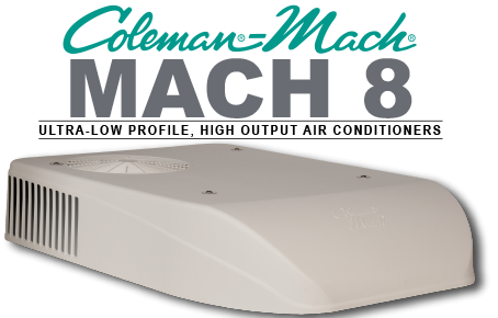 Coleman Mach Mach 8 Ultra Low Profile Air Conditioner For Campervans