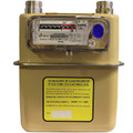 G4 / U6 Sensus with 45 degree angled index gas meter