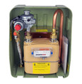 The LPG gas meter complete assembly kit is ideal for use in a mobile home and static caravan and features a 2nd stage UPSO / OPSO regulator for secondary metering