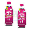 Thetford Aqua Kem Rinse pink is now available in concentrated for, offering improved performance compared to the original Aqua Kem Rinse but in a smaller bottle size and better value for money. Aqua Kem Rinse Pink is safe for use with septic tanks.