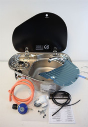 Smev 8821 Sink & Hob Combination GAZ installation Kit For Campervan Caravan Motorhome