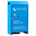 The Phoenix adaptive battery charger from Victron Energy features intelligent battery management system controlled by a microprocessor.