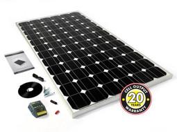 PV Logic 150w Motorhome Solar Panel Kit with 15Ah MPPT Controller (STP150MAPT)