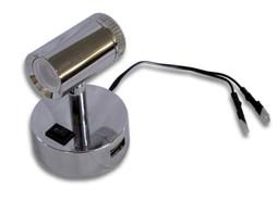 12v LED Mensa Caravan Campervan Spot lamp Switched with USB