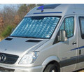 Exterior view of Thermal shield.  Suitable for Mercedes Sprinter and VW Crafter Campervans.