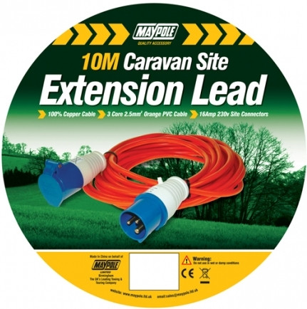 Hook up extension leads
