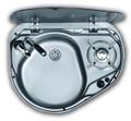The Dometic Smev MO8821 caravan & motorhome combi unit sink (LEFT HAND SINK)