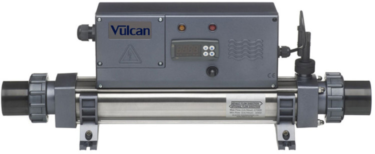 Elecro Vulcan Electric Pool Heater Digital Uk