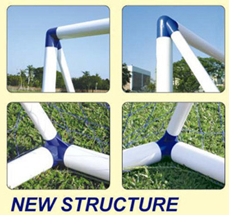 cd364716 6ft 2 in 1 Target Shot Football Training Goal Posts Soccer Kids UK