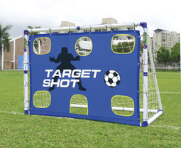 6 foot portable target goal posts soccer trainer for kids ref JC-7180T
