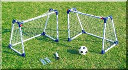 Twin Mini A Frame goal posts (kids soccer training practice goals) ref JC-8219A
