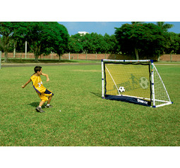 6ft Goal Post With Rebound Net
