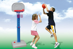 The Children's Portable Basketball Stand Set
